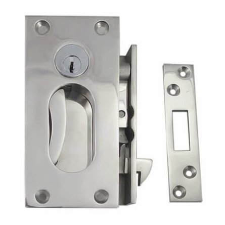 Yachy cabin, galley door lock repair